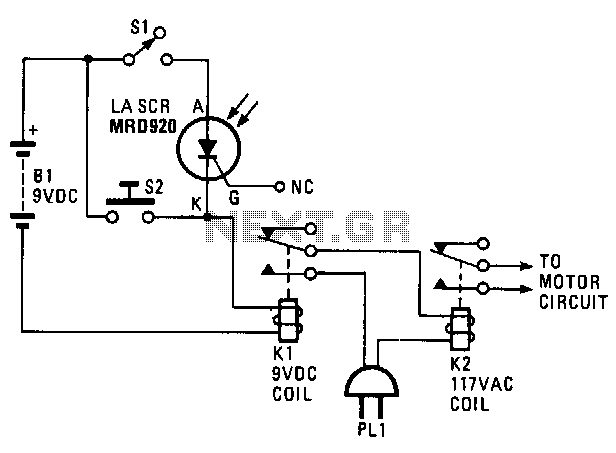 Door-opener - schematic