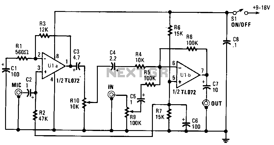 simple-mixer under audio mixer circuits