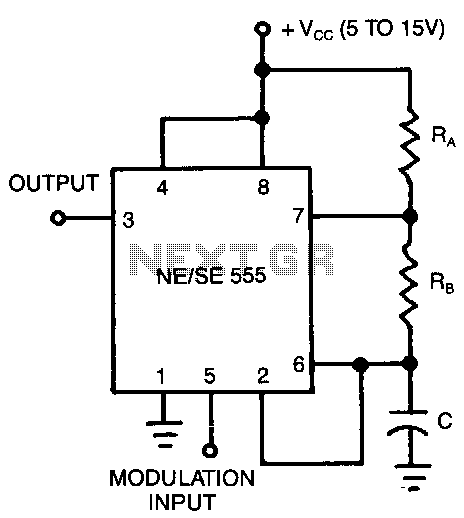 Pulse-position-modulator - schematic