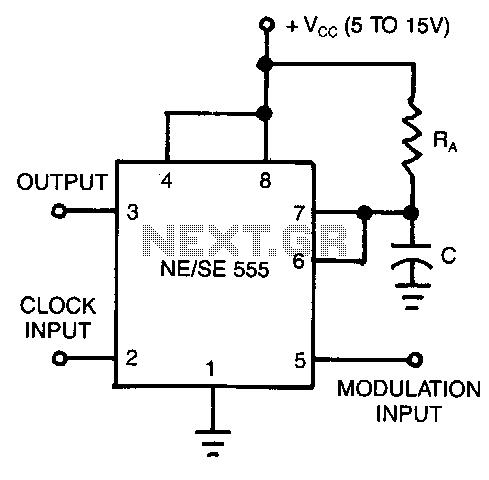 Pulse-width-modulator - schematic