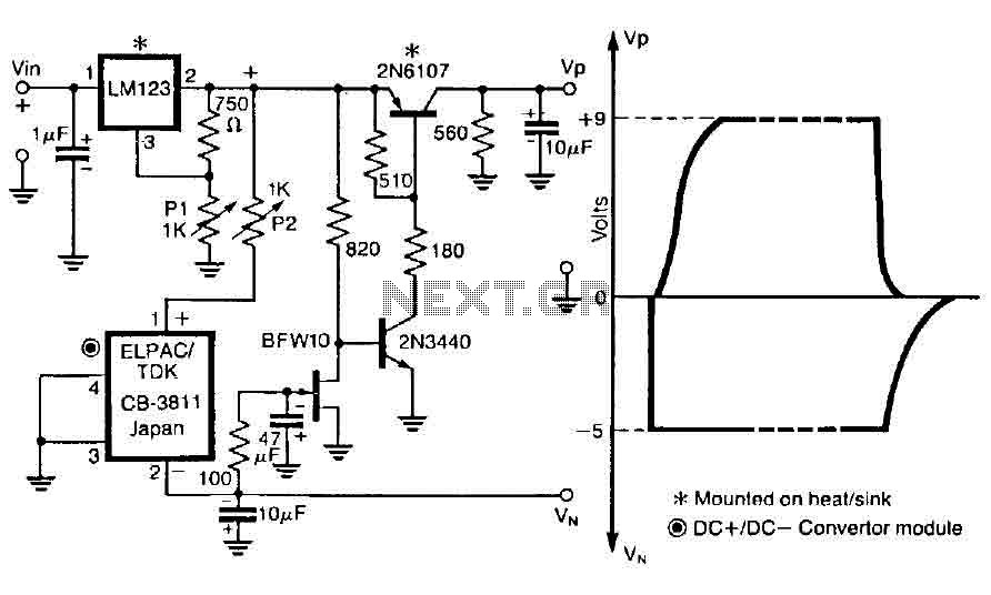 GaAsFET amplifier circuit - img1