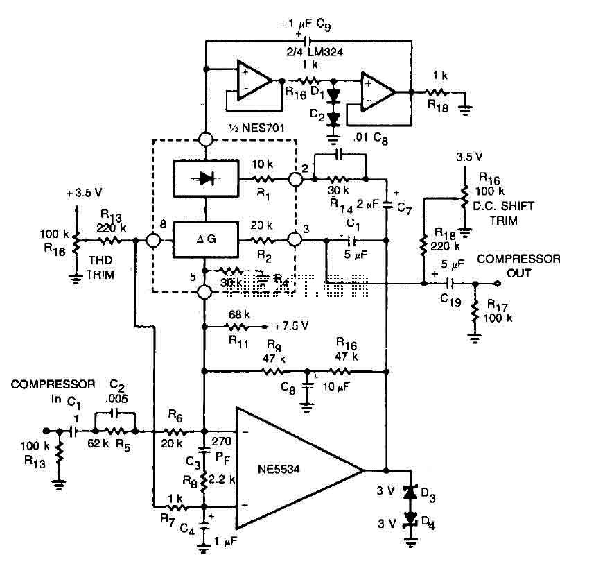 High fidelity amplifier circuit - img1