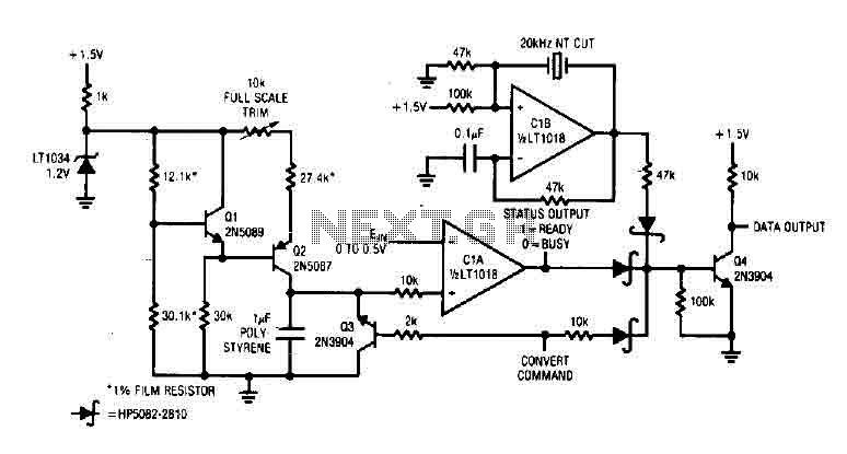 A/D Converter with LT1018 - img1
