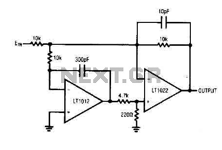 Unity gain Inverter amplifier circuit - img1