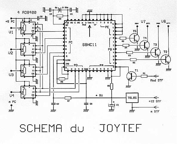 A SPECIAL INTERFACE Joystic ( 68HC11A1)