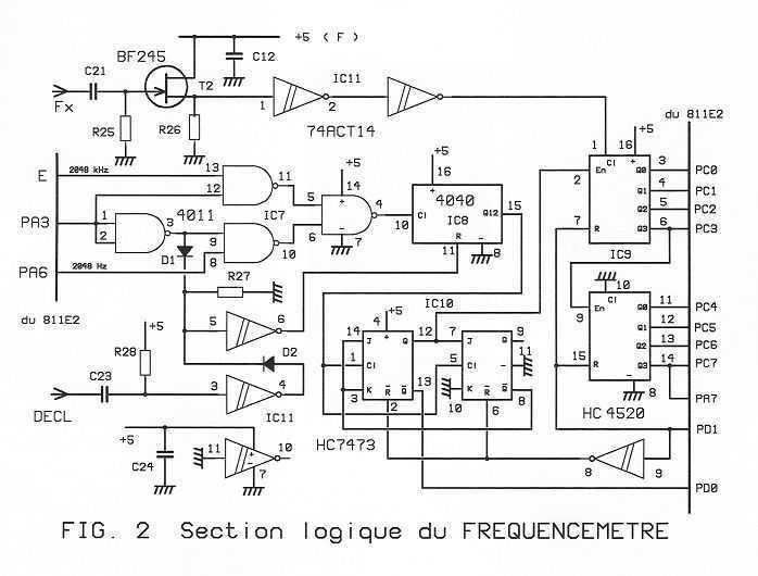 HF GENERATOR using a 68HCx11 - img1