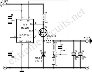 12V Glow Plug Converter - schematic