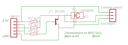SimpleThermometer - schematic