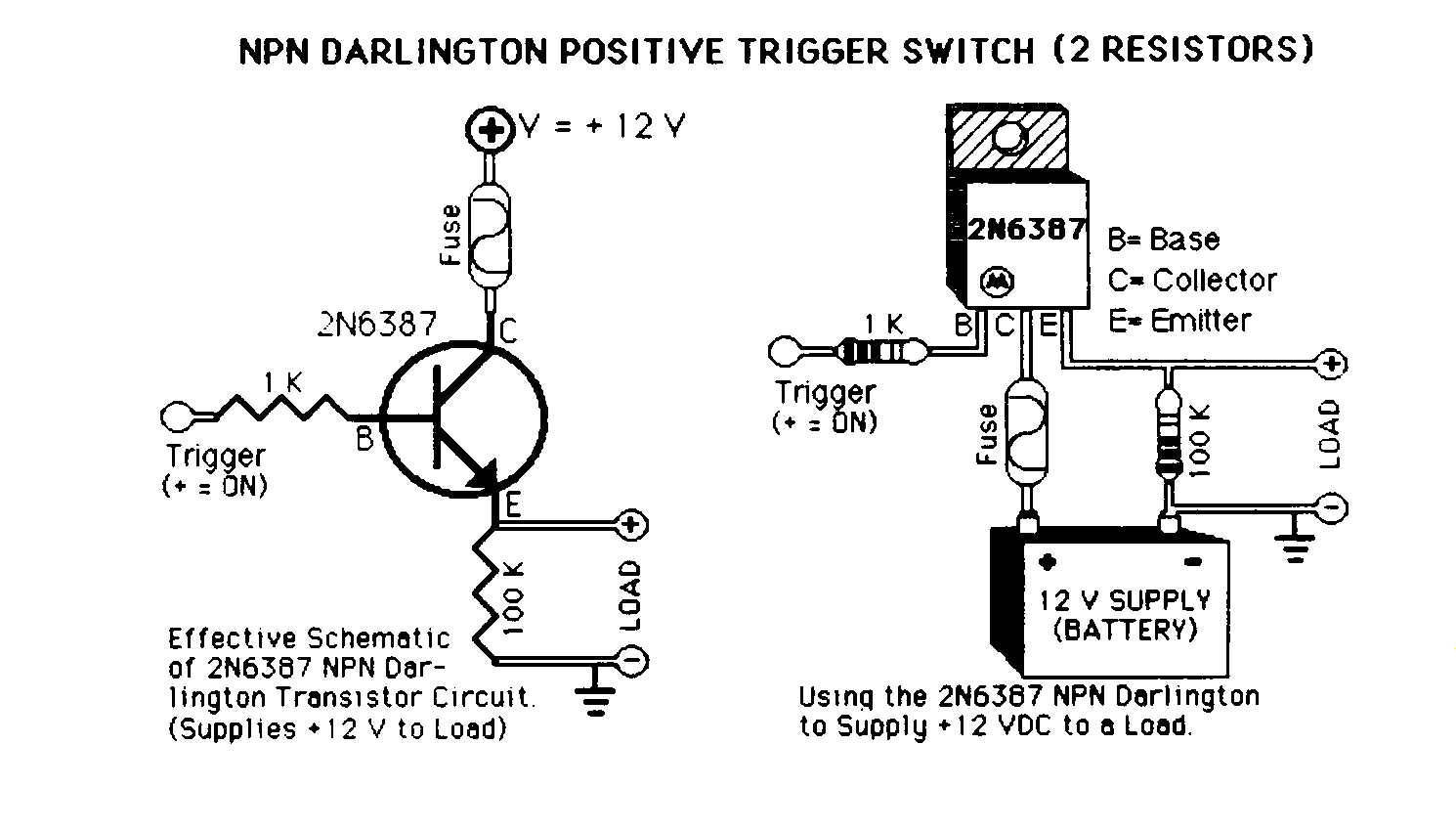 Relay Circuit Page 4 Automation Circuits 12 Volt Integrated Diode Wiring Diagrams Using Solid State Switches Instead Of Mechanical Relays