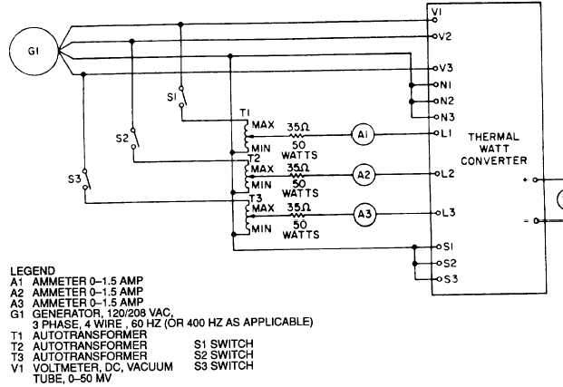 Thermal Watt Converter Circuit