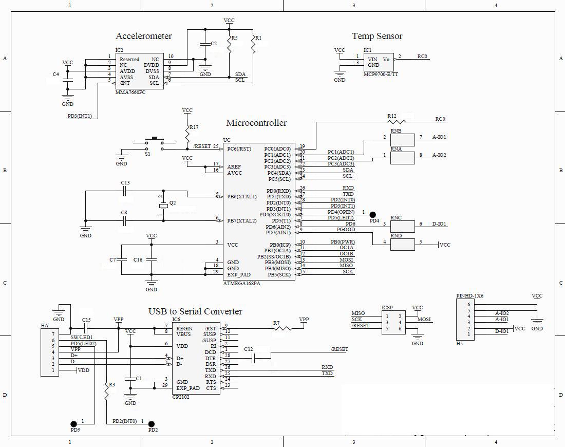 Worlds first Arduino flashlight ships soon - schematic