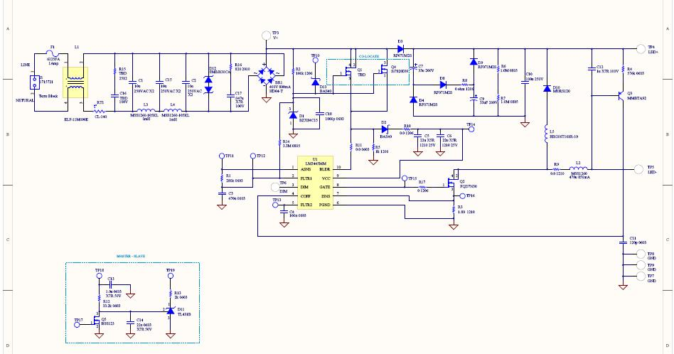 TRIAC Dimmer LED Driver Reference Design