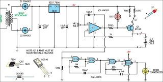 Nicad Charger Uses Voltage Cut-Out - schematic
