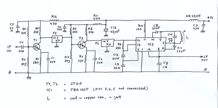 Rf Demodulator Schematic Rf Mixer Schematic Elsavadorla