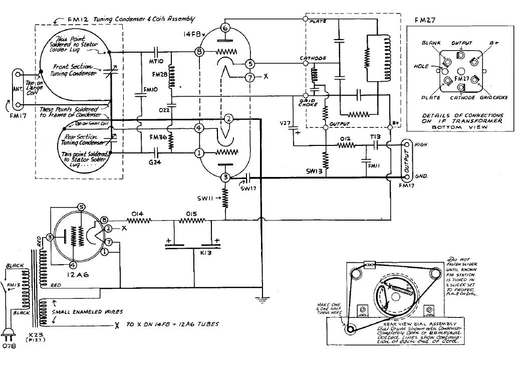 FM reciever Tube reciever - img1