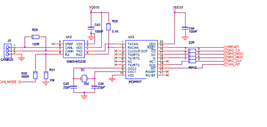 Industrial Interface - schematic