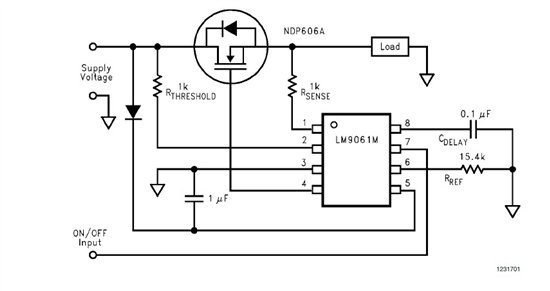 Use of N-channel power MOSFET on BQ78PL114 - schematic