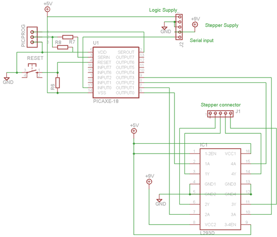 Stepper Motor Circuit Page 5 Automation Circuits