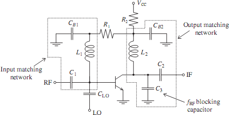 Oscillators and Mixers - schematic