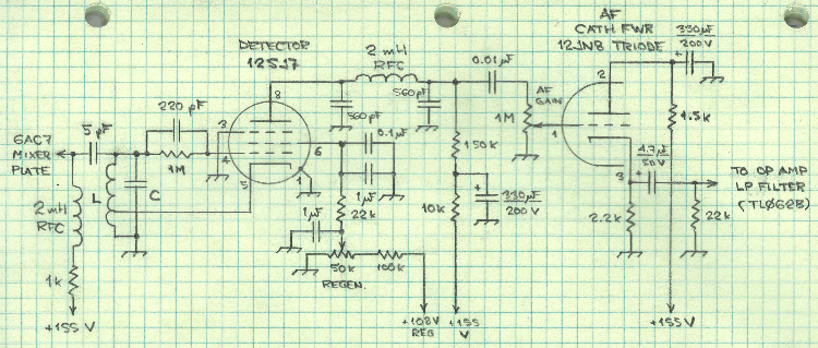 Goodman Band Imaging Receiver - schematic