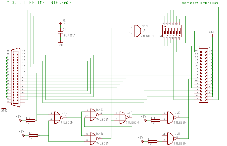 Load Cell with an Arduino - schematic