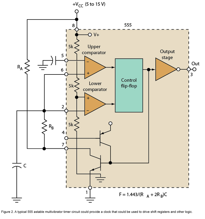 Whats Better For Timing Chores: A 555 Or A Microcontroller - schematic