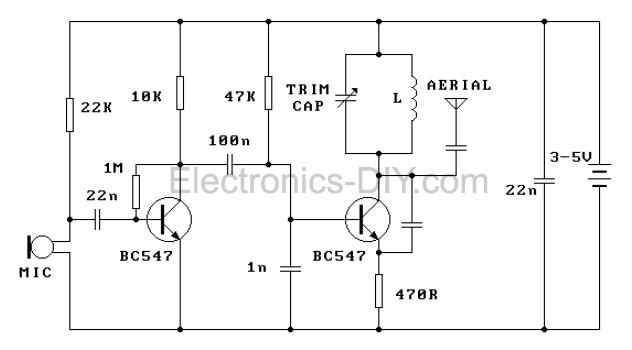 FM Transmitter - schematic