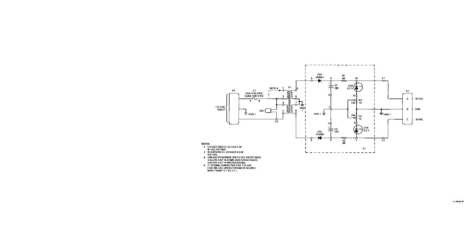 Battery Charger Schematic Diagram - schematic