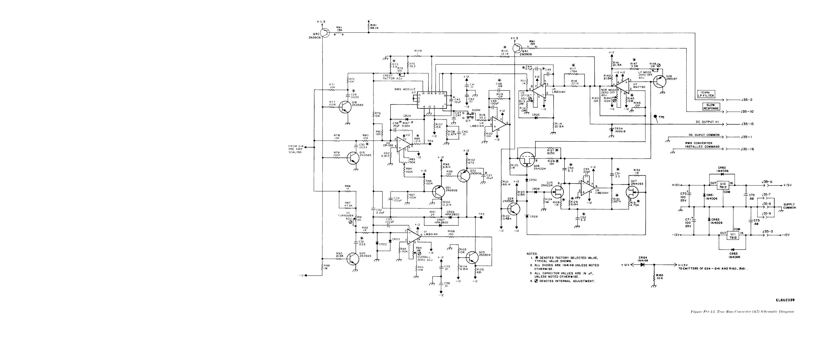 Converter Circuit Page 4 Carbon Microphone True Rms