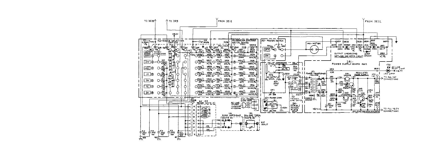 Power Supply Page 13 Circuits 31 Nextgr Schematic Diagram Of Board Assembly Range Switch And Ower