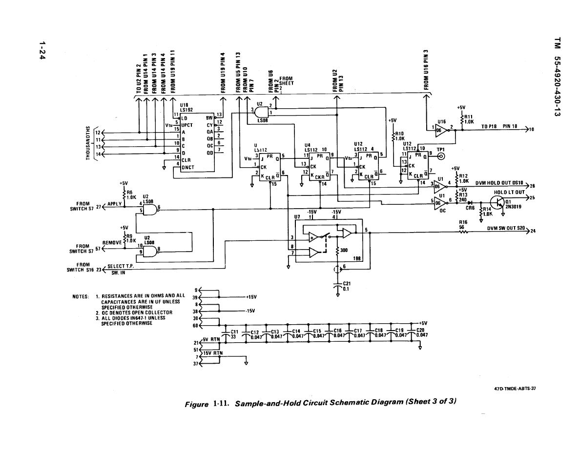 sample-and-hold circuit schematic diagram 3 under repository-circuits