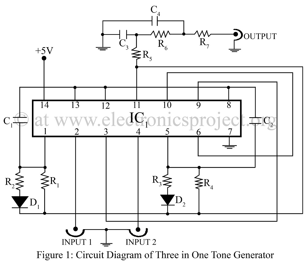 Results Page 273 About Ic 555 Timer Searching Circuits At Doorbell With Ic555 Three In One Tone Generator Circuit Diagram Of