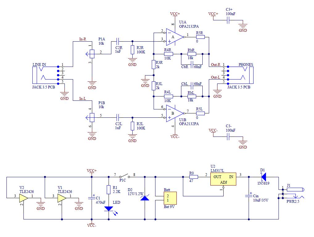 Hifi Headphone Amplifier Under Repository-circuits