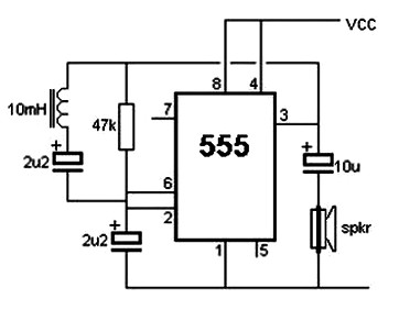 metal detector circuit with diagram and schematic – readingrat, Wiring block