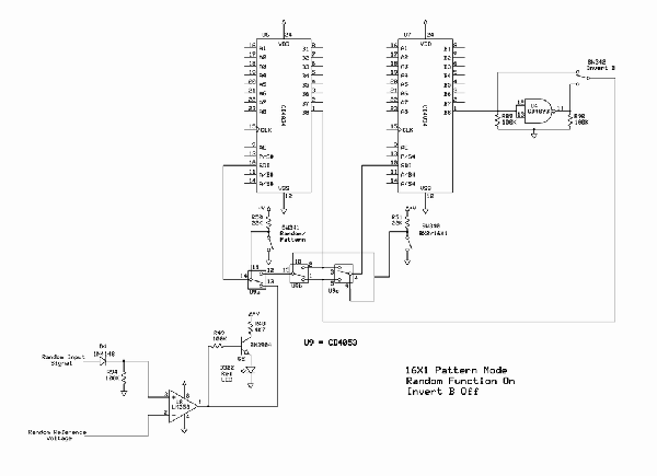 Klee Sequencer Circuit Theory of Operation - schematic