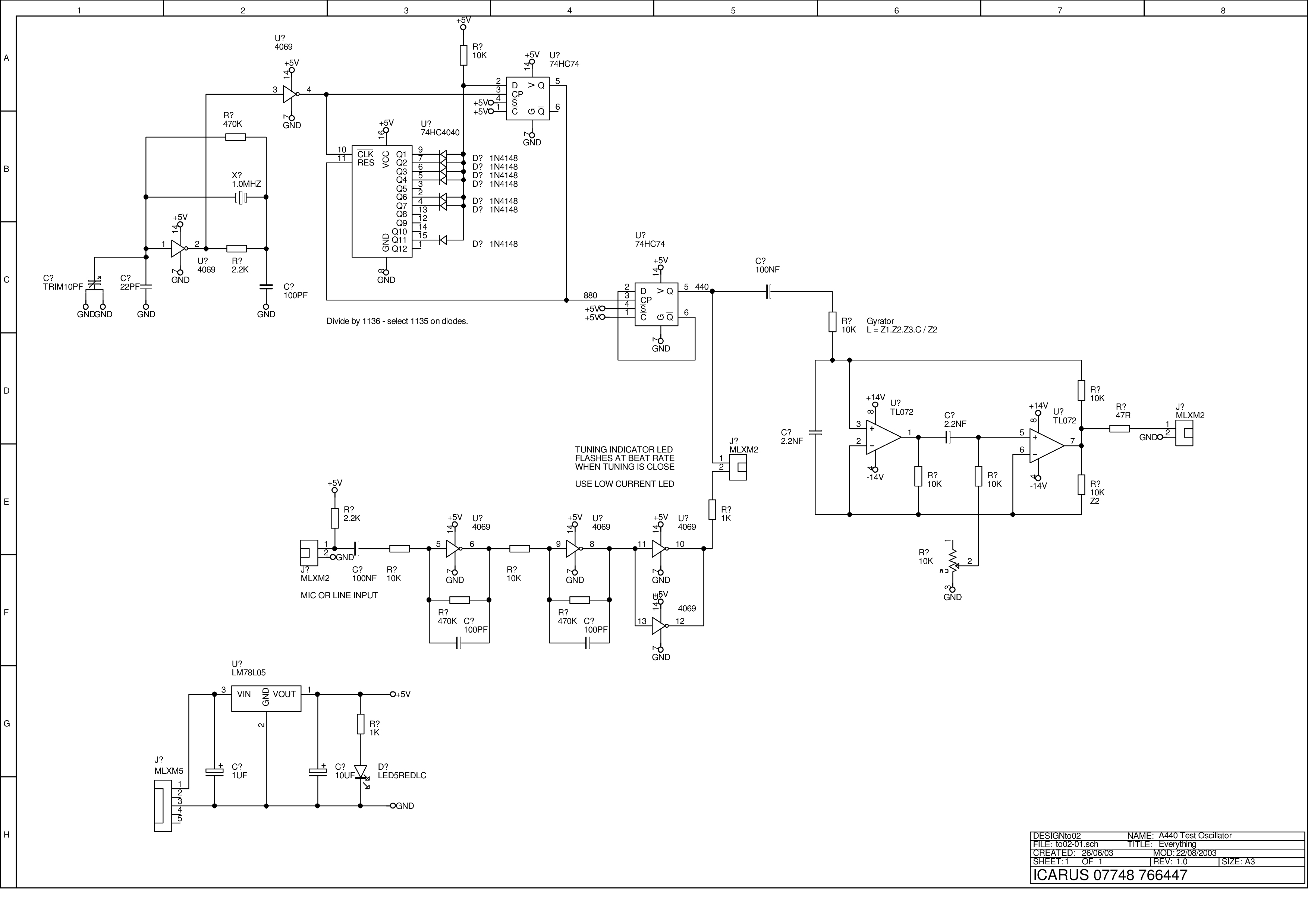 New Circuits Page 23 Lm324 Application Circuit Analysis In The Of Directflow A 440o Scillator Version X