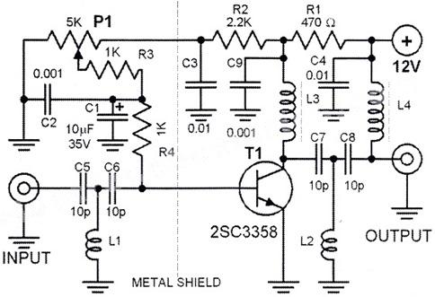 Marvelous Uhf Circuit Rf Circuits Next Gr Wiring Database Gramgelartorg