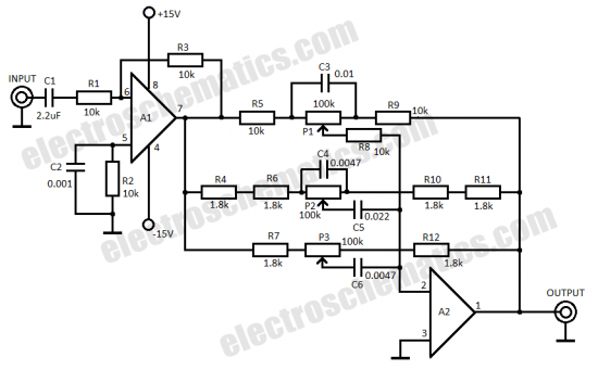 3 band equalizer circuit under repository-circuits
