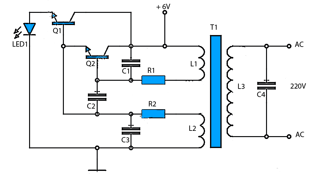 dc ac inverter circuit diagram  zen diagram, circuit diagram
