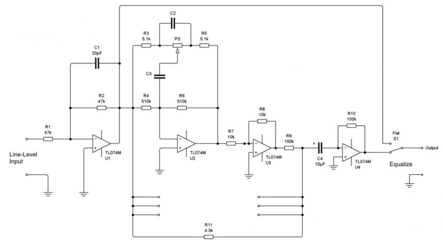24 band equalizer schematic design - schematic
