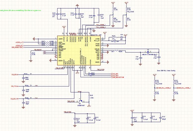 1701 Oscillator start problem - schematic