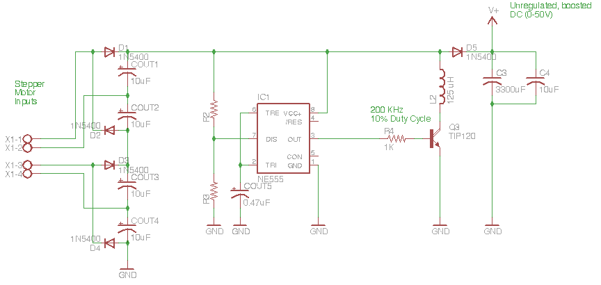 Switching Power Supply - schematic