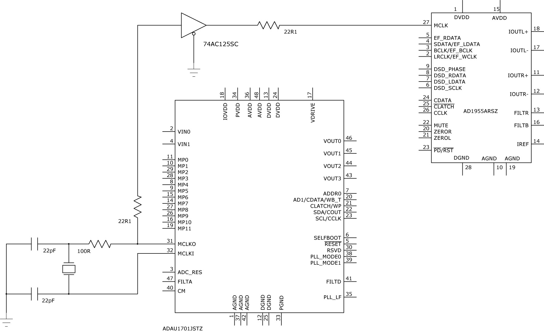 Results Page 35 About 40 Mhz Searching Circuits At Simple Inductance Meter Circuit Diagram Tradeofic Interfacing Adau1701 With Ad1955