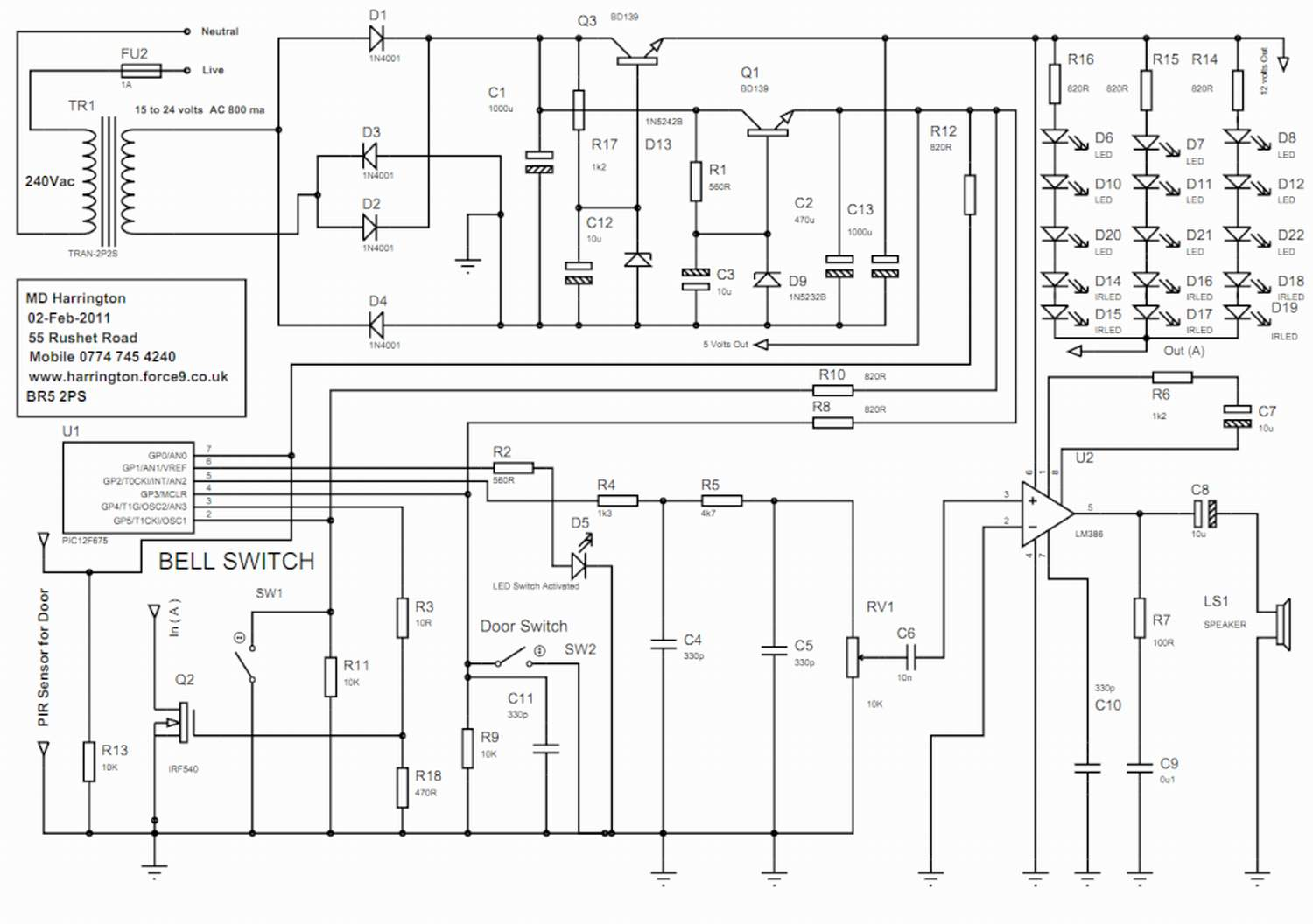 doorbell wiring schematic  u0026 wiring diagram page 165 top 10 doorbell wiring diagram download u0026quot  u0026quot sc
