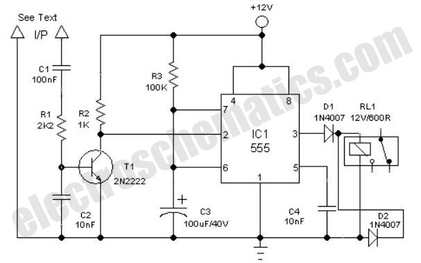 Clock circuit page 6 meter counter circuits next clock alarm light switch circuit ccuart Image collections