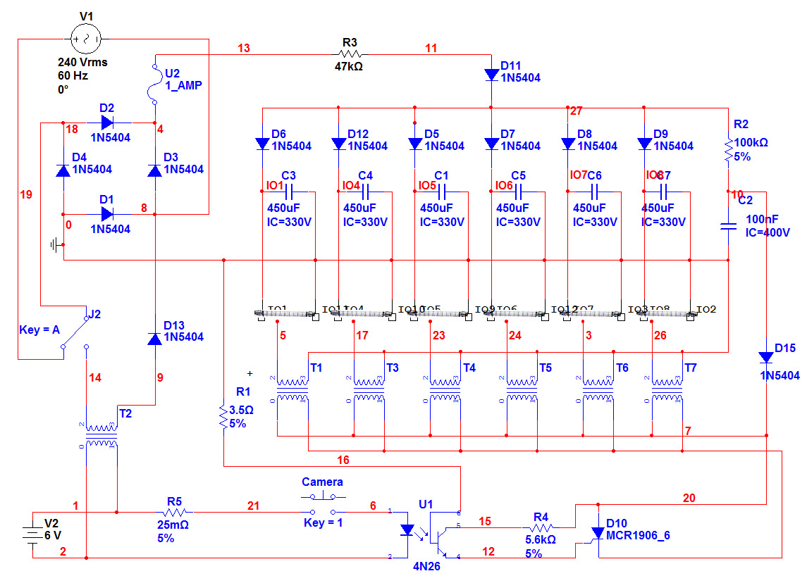New Circuits Page 149 Universal Triac Control With Optocoupler P Marian Circuit For Jamie Pocock Diy Ring Flash