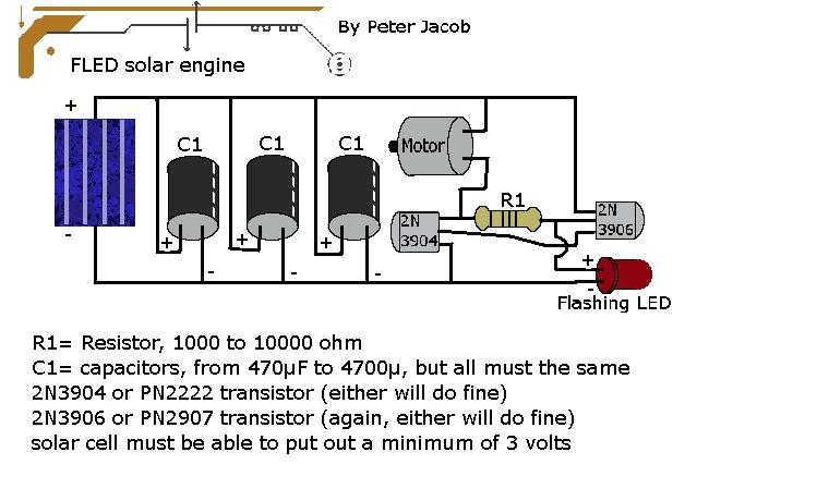 solar robot - schematic