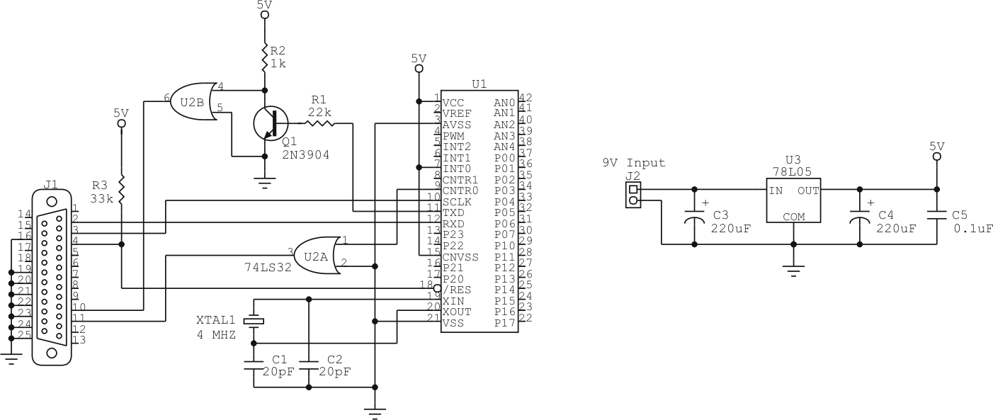 Microcontroller Programmer Circuit Circuits Get Domain Pictures M3850a