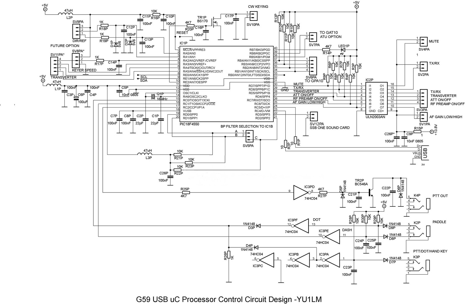 Transceiver Circuit Page 2 Rf Circuits Arduino 3 Microcontroller Nextgr Genesis G59 Software Defined Radio