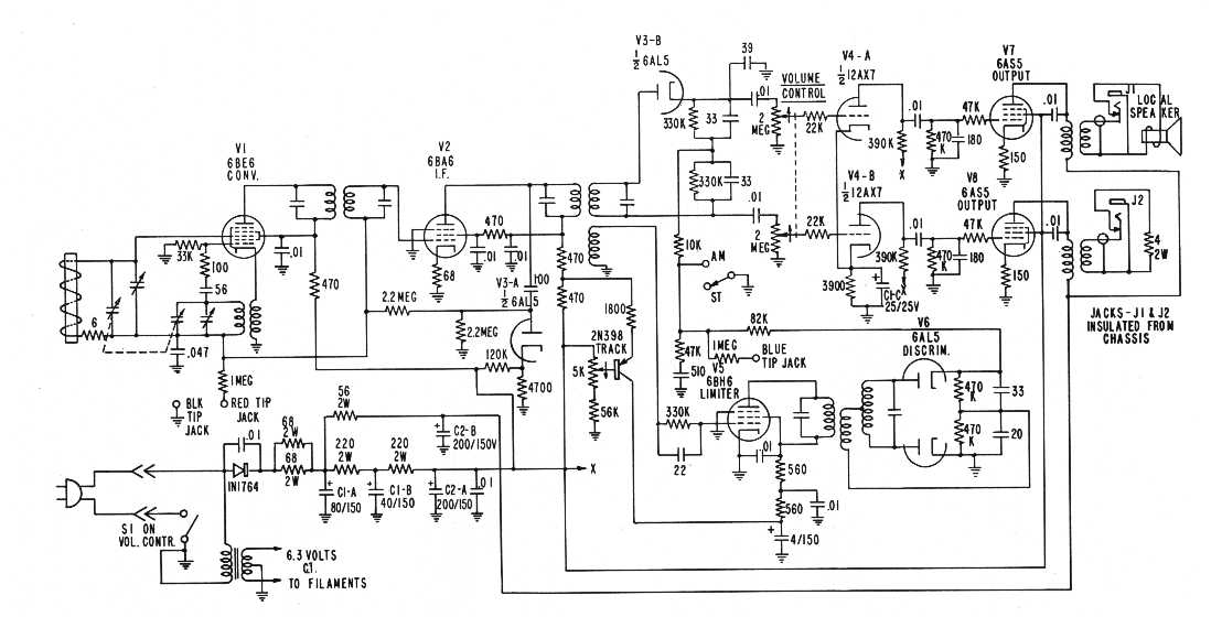 RCAs AM Stereo System - schematic